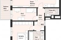 Wohnung 3 - Obergeschoß