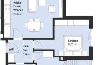 Wohnung 4 - Obergeschoß